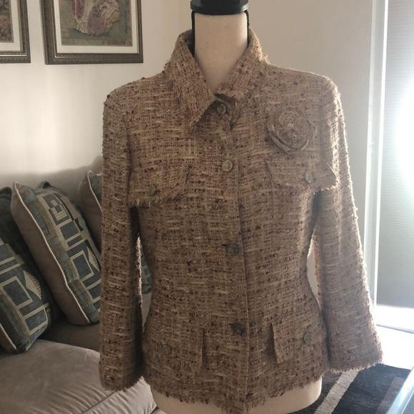 CHANEL Jackets & Blazers - Vintage Chanel tweed jacket
